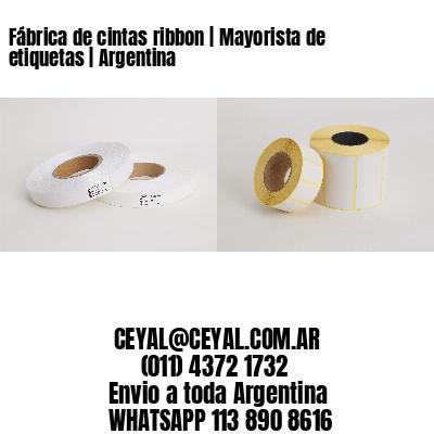 Fábrica de cintas ribbon | Mayorista de etiquetas | Argentina