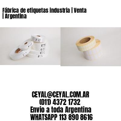 Fábrica de etiquetas industria | Venta | Argentina