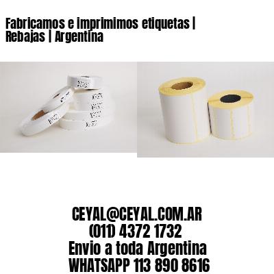Fabricamos e imprimimos etiquetas | Rebajas | Argentina
