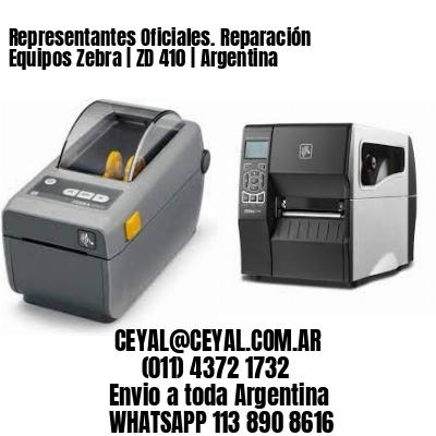 Representantes Oficiales. Reparación Equipos Zebra | ZD 410 | Argentina
