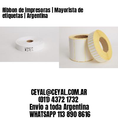 Ribbon de impresoras | Mayorista de etiquetas | Argentina