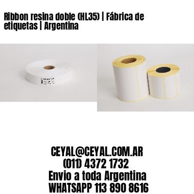 Ribbon resina doble (HL35) | Fábrica de etiquetas | Argentina