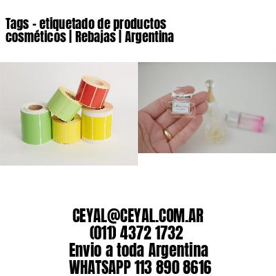 Tags - etiquetado de productos cosméticos | Rebajas | Argentina