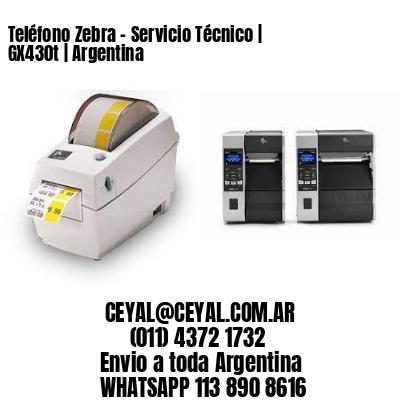 Teléfono Zebra - Servicio Técnico | GX430t | Argentina