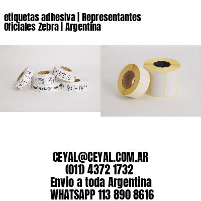 etiquetas adhesiva | Representantes Oficiales Zebra | Argentina