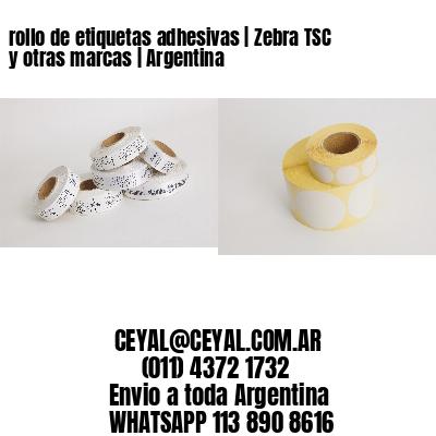 rollo de etiquetas adhesivas | Zebra TSC y otras marcas | Argentina