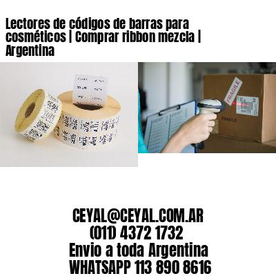 Lectores de códigos de barras para cosméticos | Comprar ribbon mezcla | Argentina