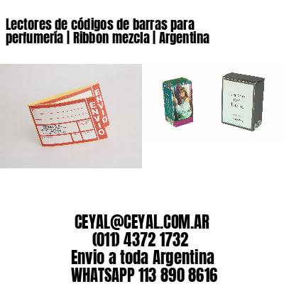 Lectores de códigos de barras para perfumería | Ribbon mezcla | Argentina